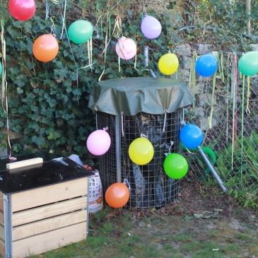 OASE Kinderkompost-Einweihungsfest