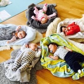 Neuer Babymassage Gruppenkurs im Juli