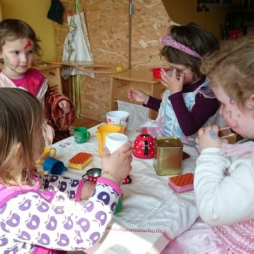 Kinderhüeti-Nachmittag mit Helga