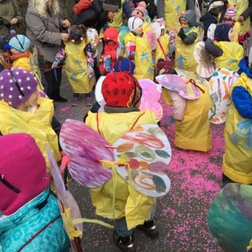 OASE Spielgruppen am Arleser Kinderfasnachtsumzug 2018