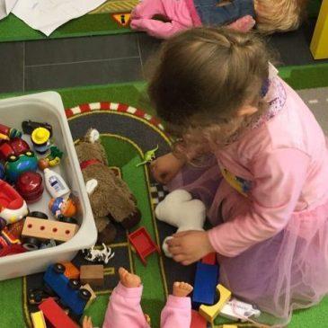 Donnerstag ist Kinderhüeti-Zeit in der OASE…