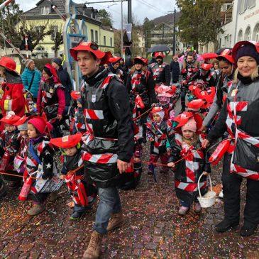 OASE Spielgruppen am Arleser Kinderfasnachtsumzug 2019